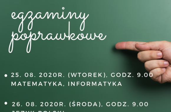 25. 08. 2020 (wtorek) matematyka, informatyka