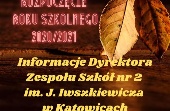 informacje Dyrektora Zespolu Szkół nr 2 im. J. Iwszkiewicza w Katowicach (1)